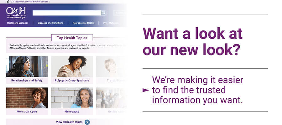 Want a look at our new look? We're making it easier to find the trusted information you want.