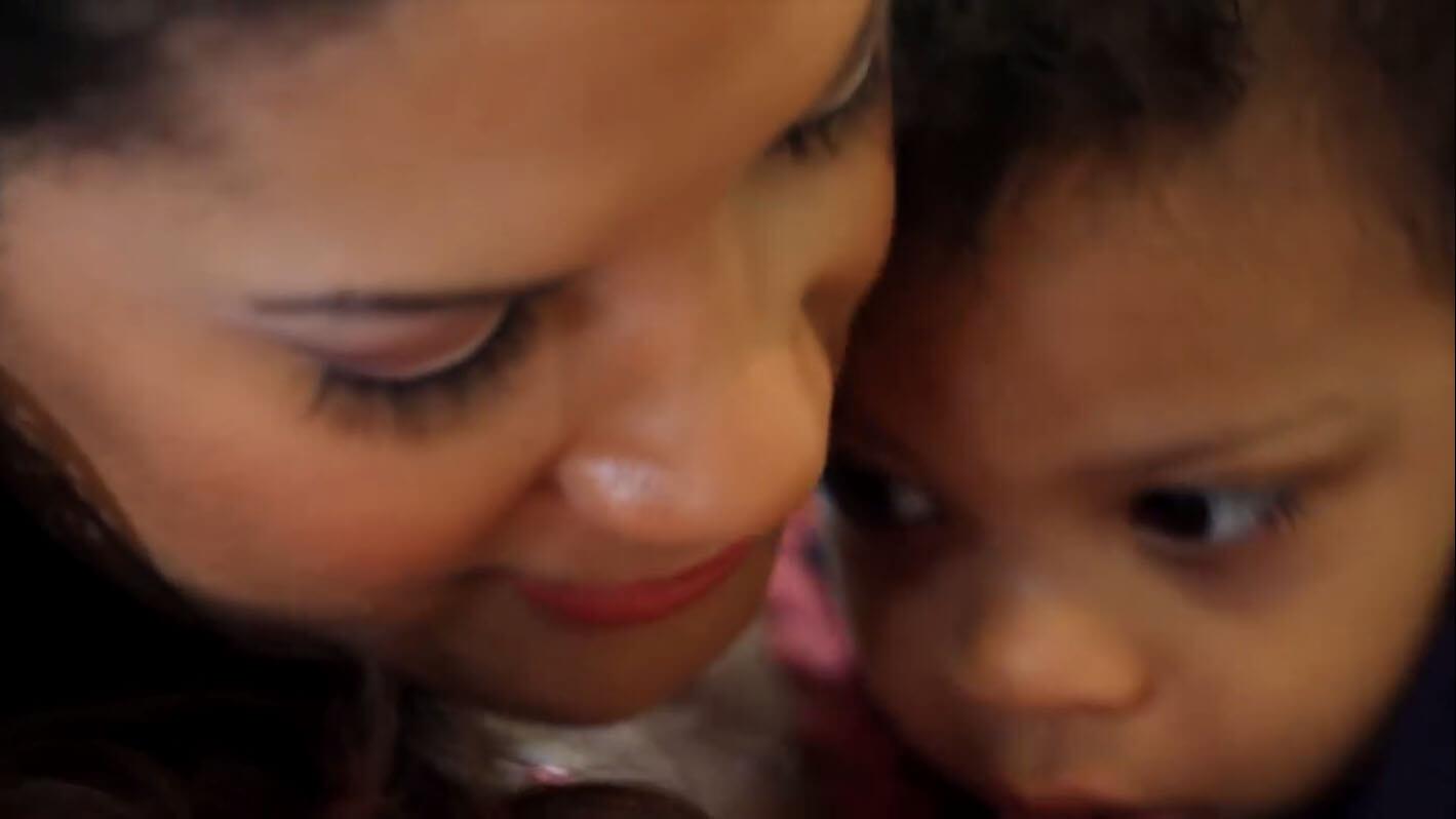 MicheleT. con su hija