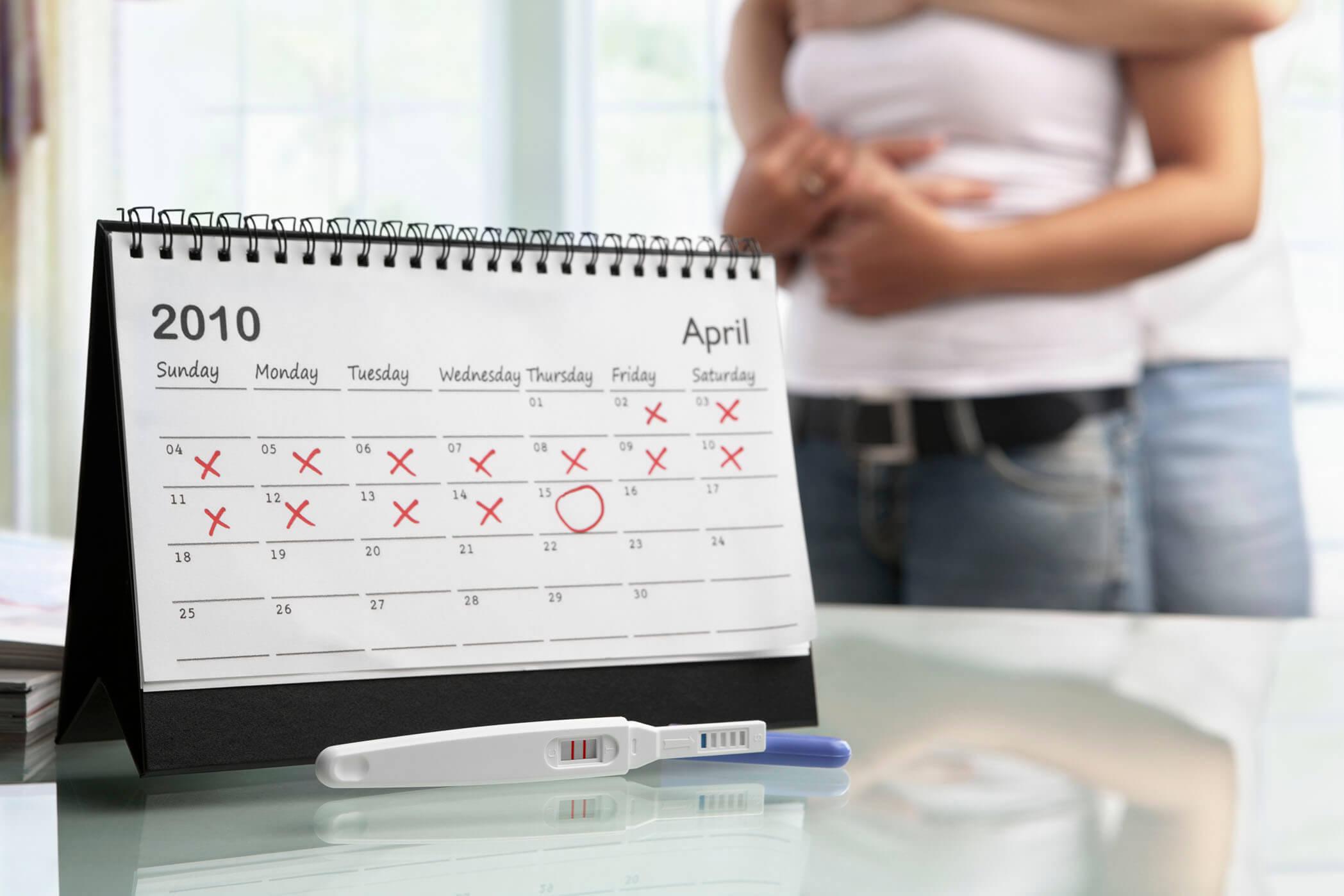 puedo hacerme un test de embarazo antes del retraso
