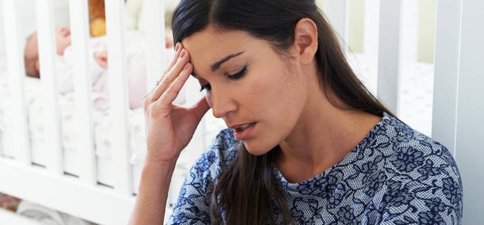 Una mujer con cara de frustración