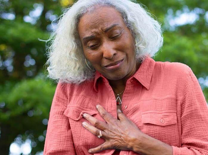 síntomas de ataque al corazón dolor en la ingle