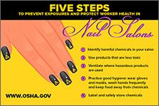 Nail safety infocard