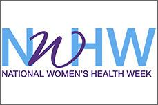 National Women's Health Week Logo
