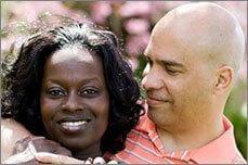 Tonya Willis and Sergeant Major Panapa R. Willis